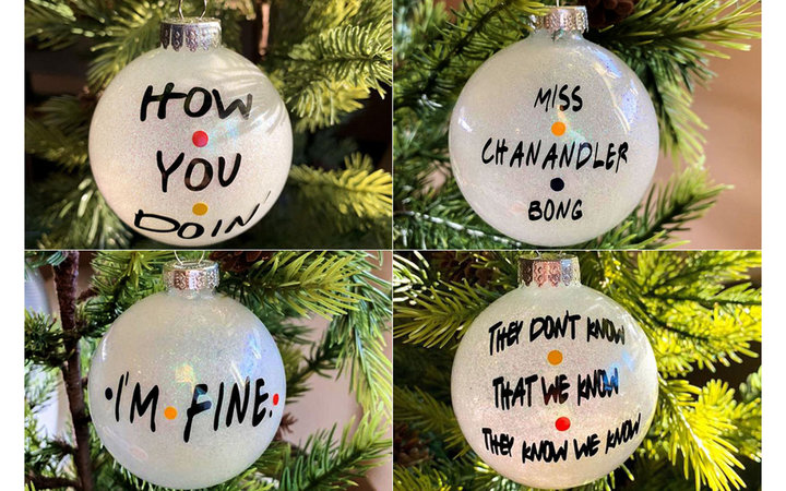 Friends ornaments