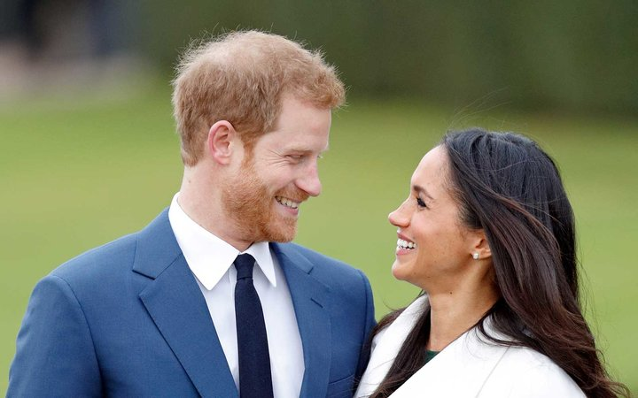 Meghan and Harry.