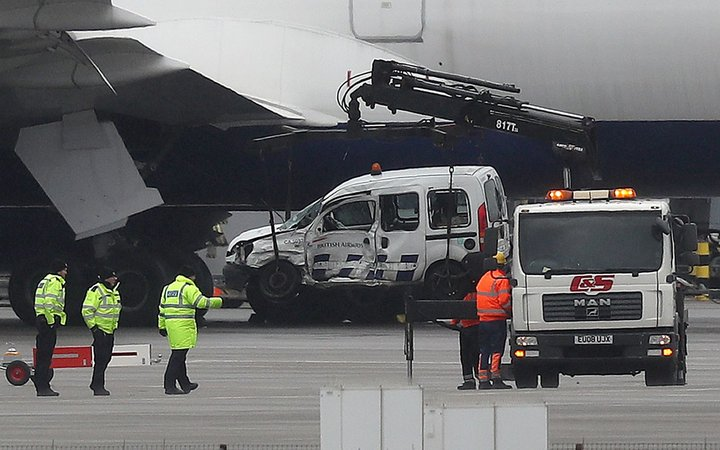 British Airways crash at Heathrow Airport