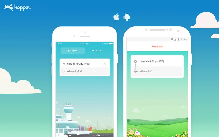 The Hopper app