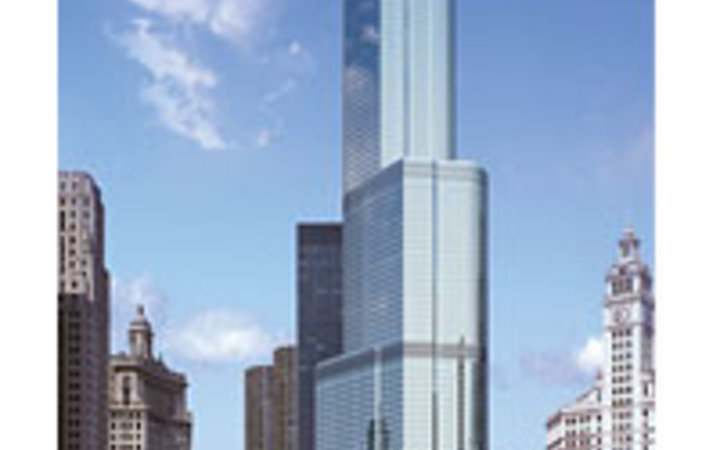 Courtesy of Trump Hotel Collection The new Trump property, in Chicago.