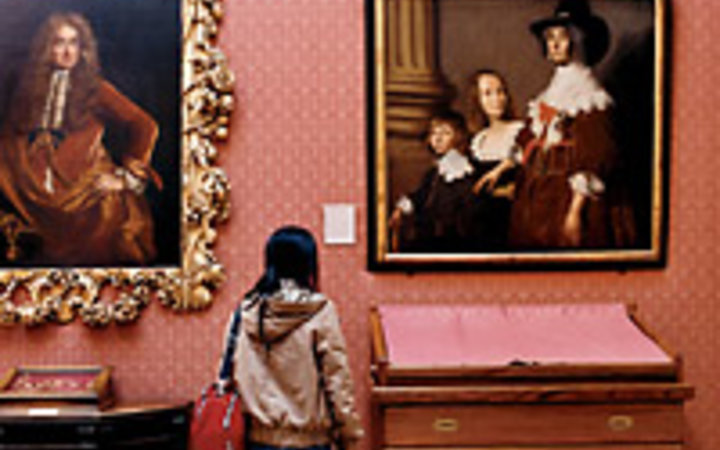 Jasper James Paintings by British artists at Oxford's Ashmolean Museum