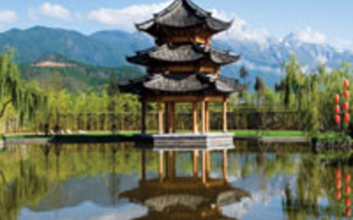 BANYAN TREE HOTELS AND RESORTS On the grounds of the Banyan Tree Lijiang, in the southern Yunnan province.