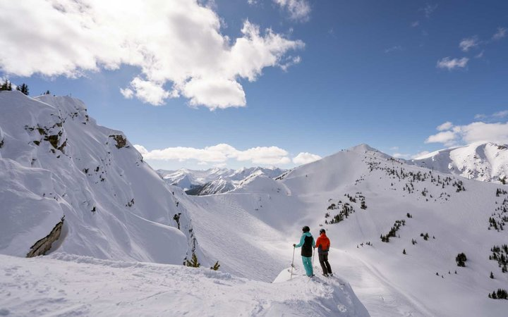Skiing Kicking Horse British Columbia