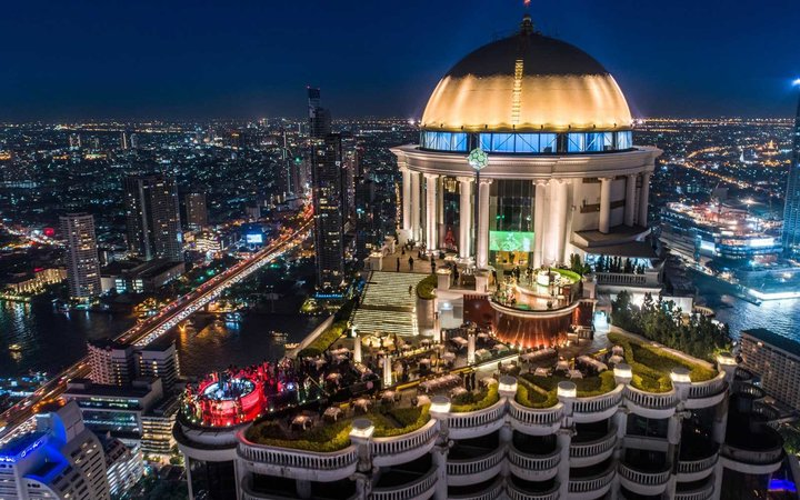 Lebua at State Tower, Sirocco restaurant
