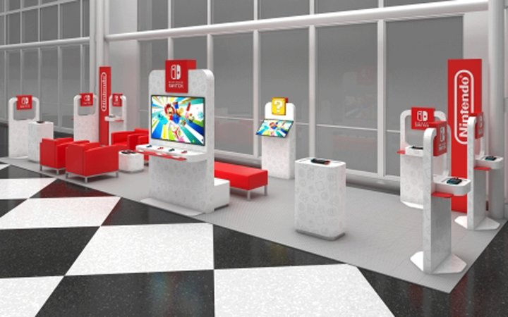 Rendering of the Nintendo Switch Pop-Up