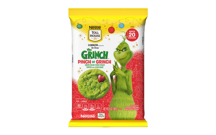 Nestle Toll House Releases Grinch Cookies