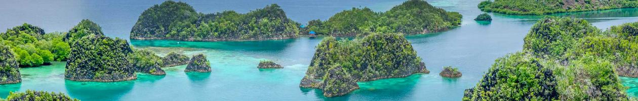 Paneimo Islands in Raja Ampat, Indonesia