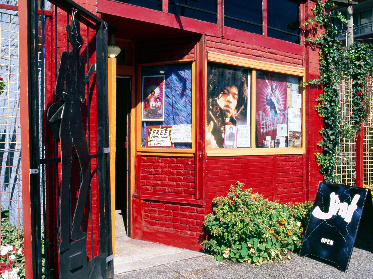 Jimi Hendrix Shrine in Vancouver