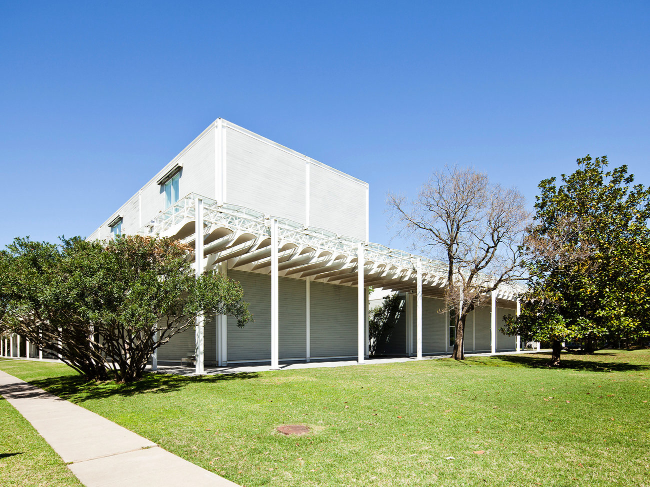 The Menil Collection Gallery in Houston
