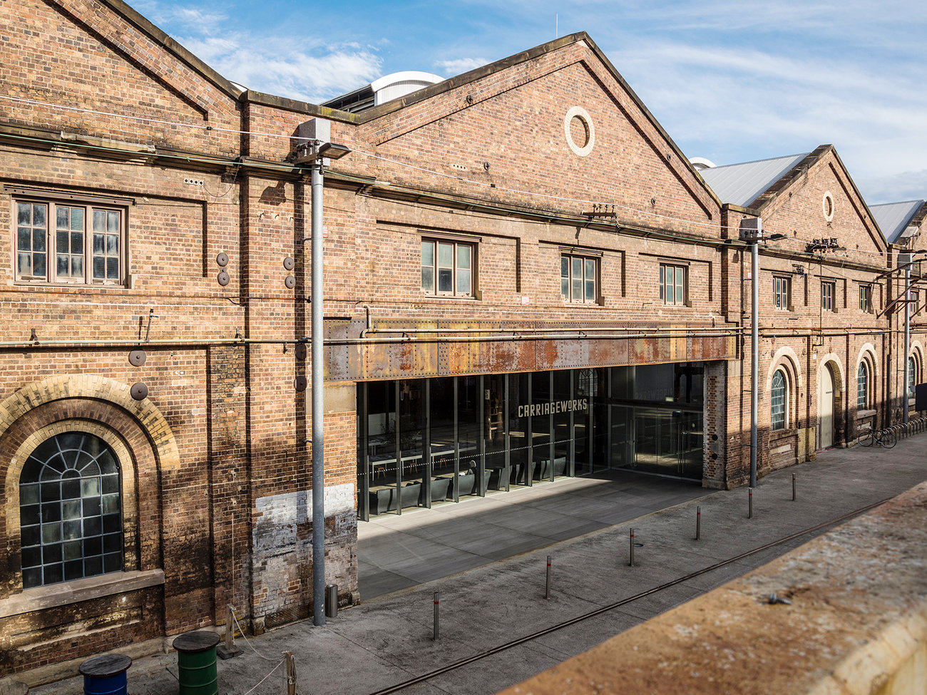 Carriageworks Arts Centre in Sydney