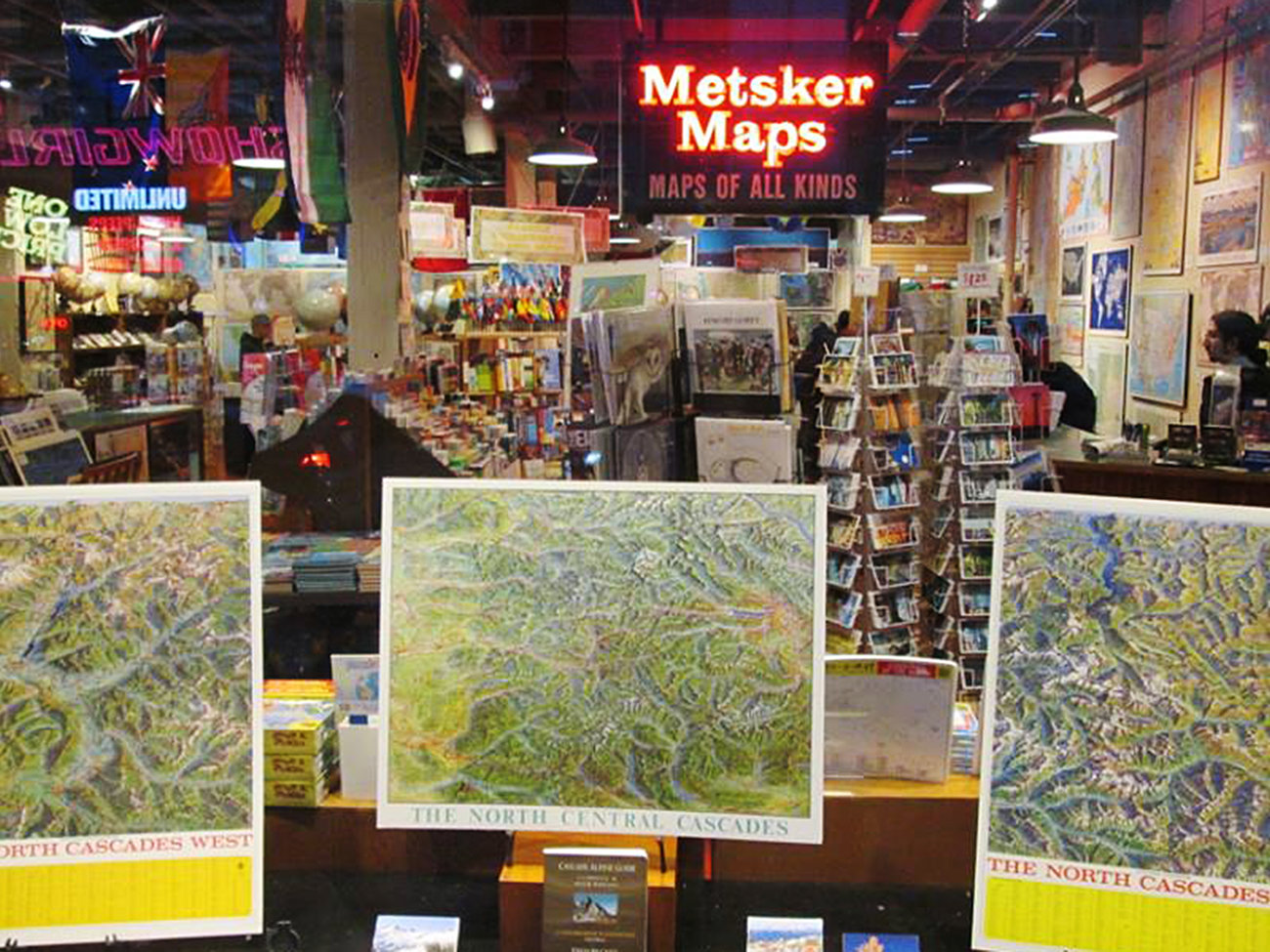 Metsker Maps Store in Seattle