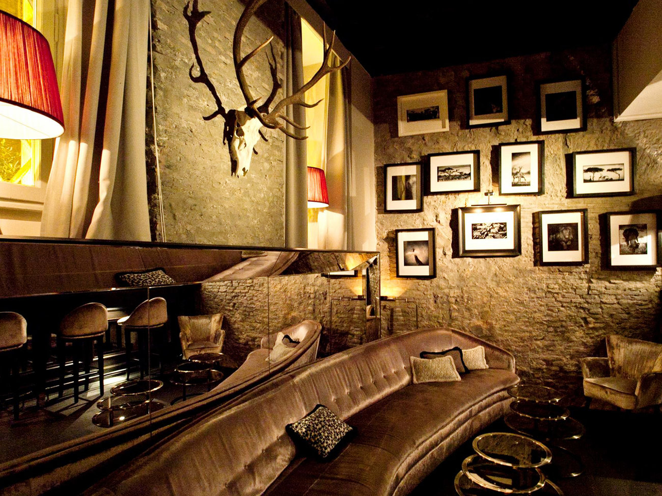 Deer Club Bar at DOM in Rome