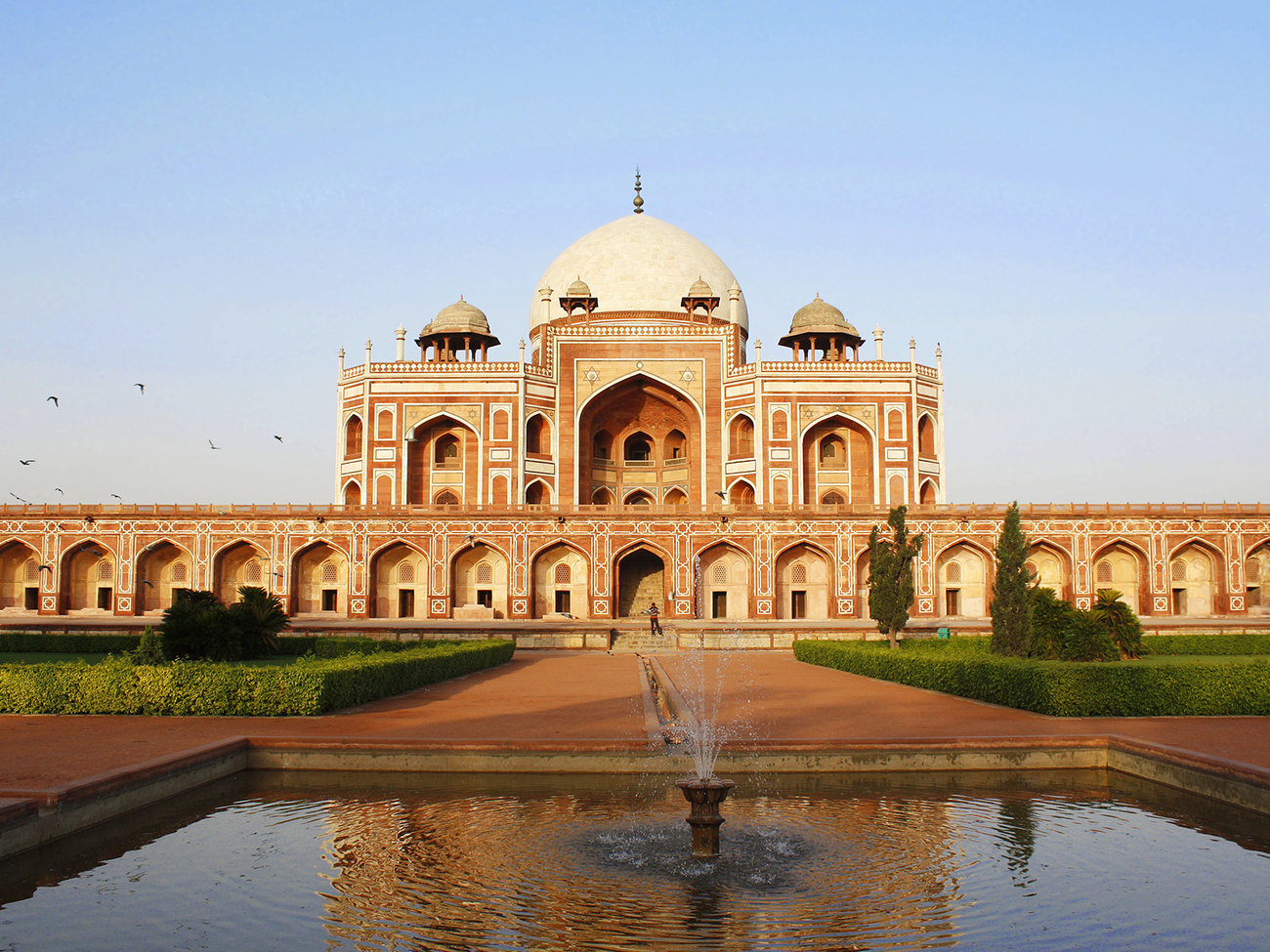 Humayun Tomb Mosque in Delhi