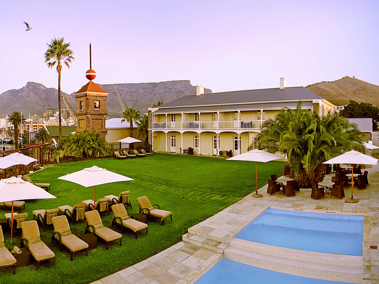 Dock House Hotel in Capetown