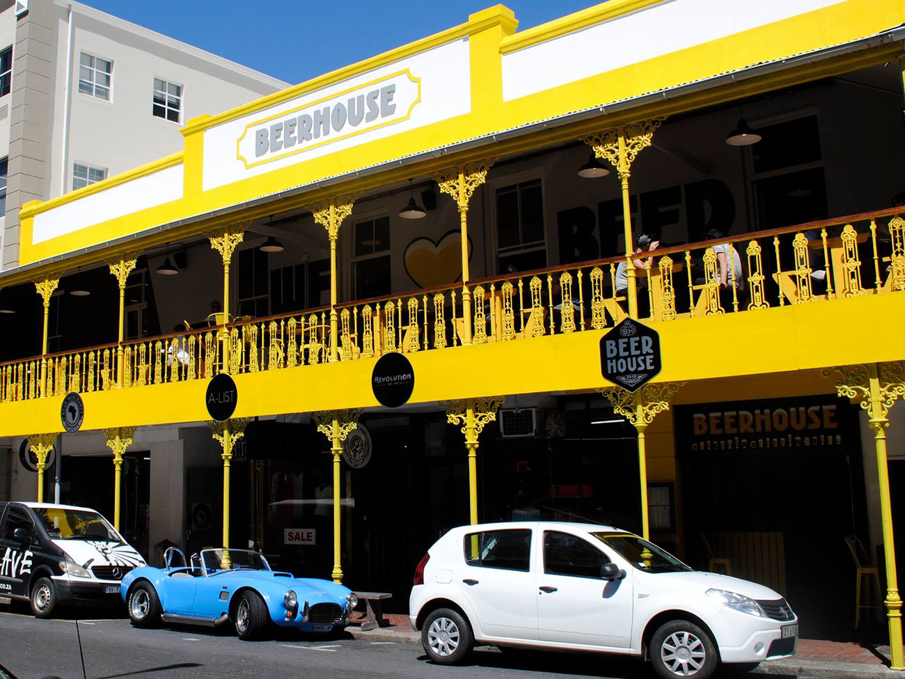 Beerhouse on Long Bar in Cape Town