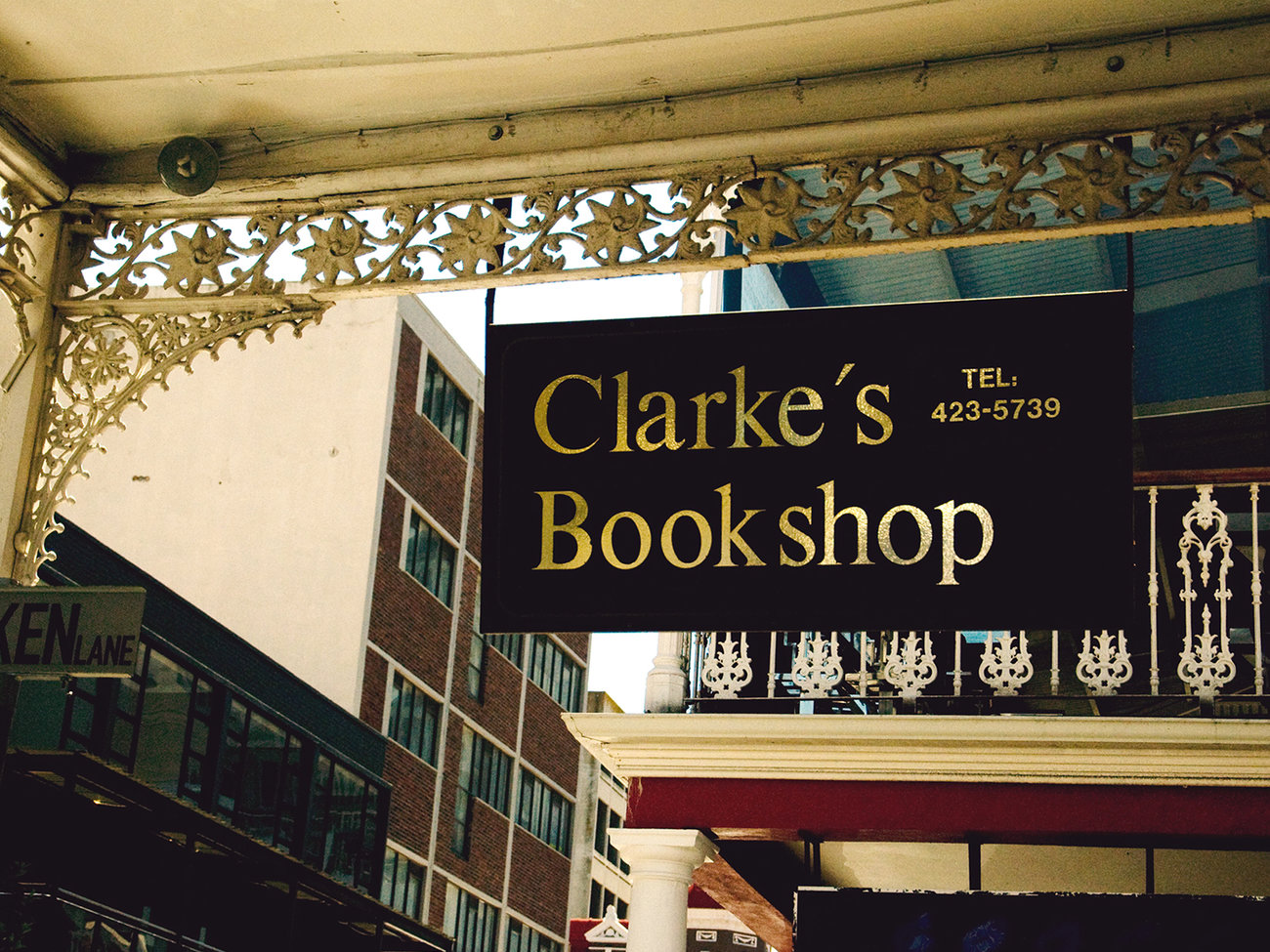 Clarke's Bookshop in Cape Town