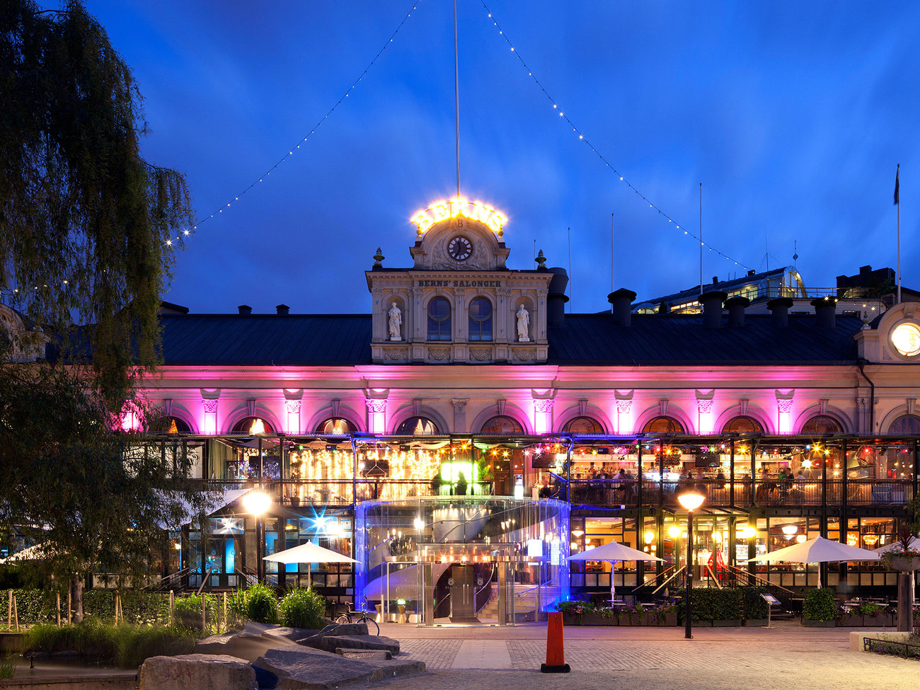 Berns Nightclub and Bar in Stockholm
