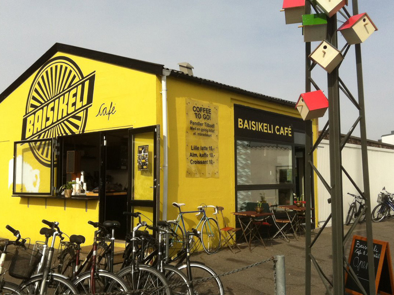 Baisikeli Bike Shop in Copenhagen