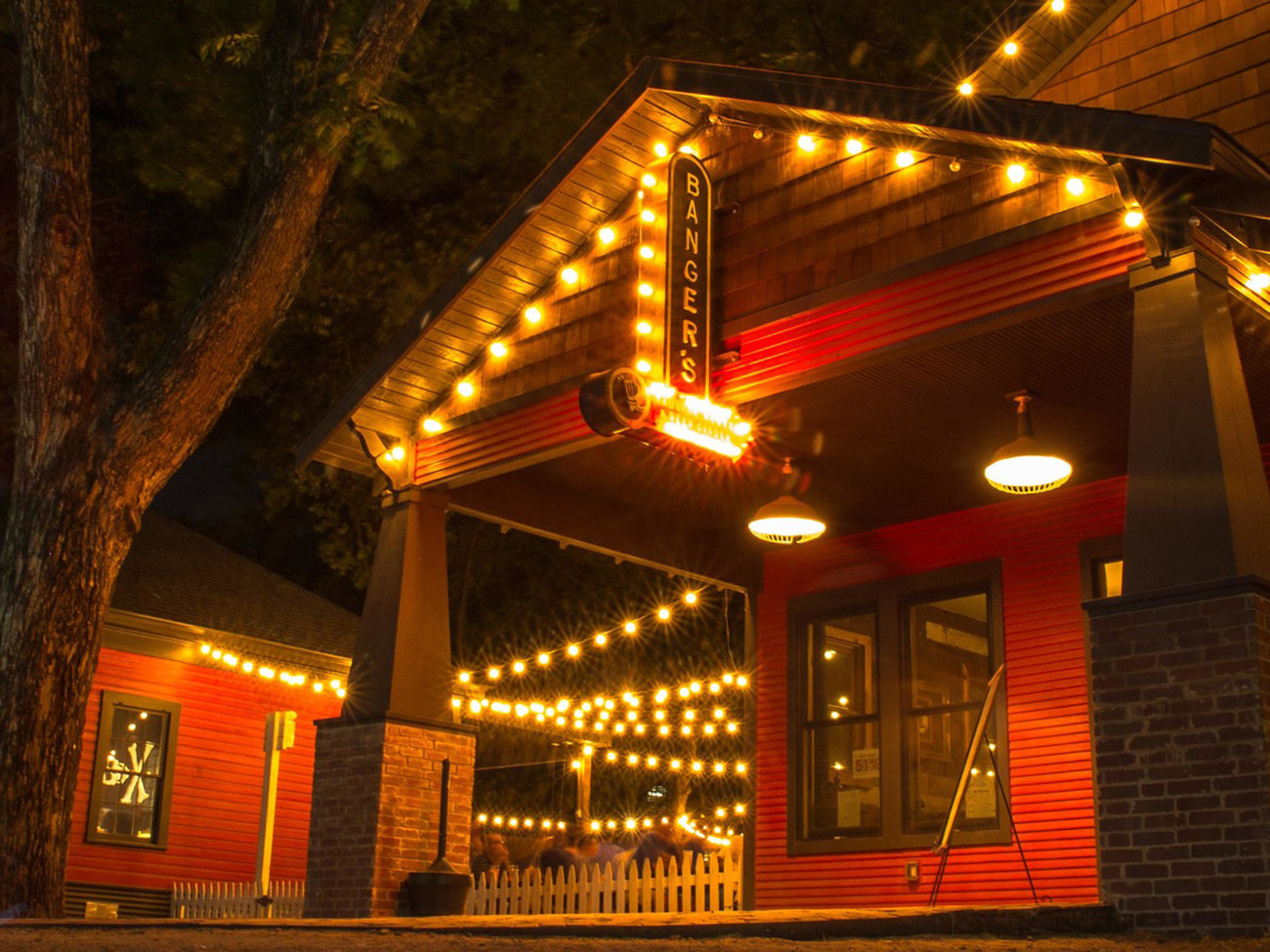 Banger's Sausage House & Beer Garden Bar in Austin