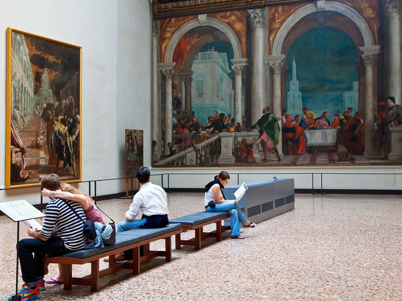 Galleria dell'Accademia Gallery in Venice
