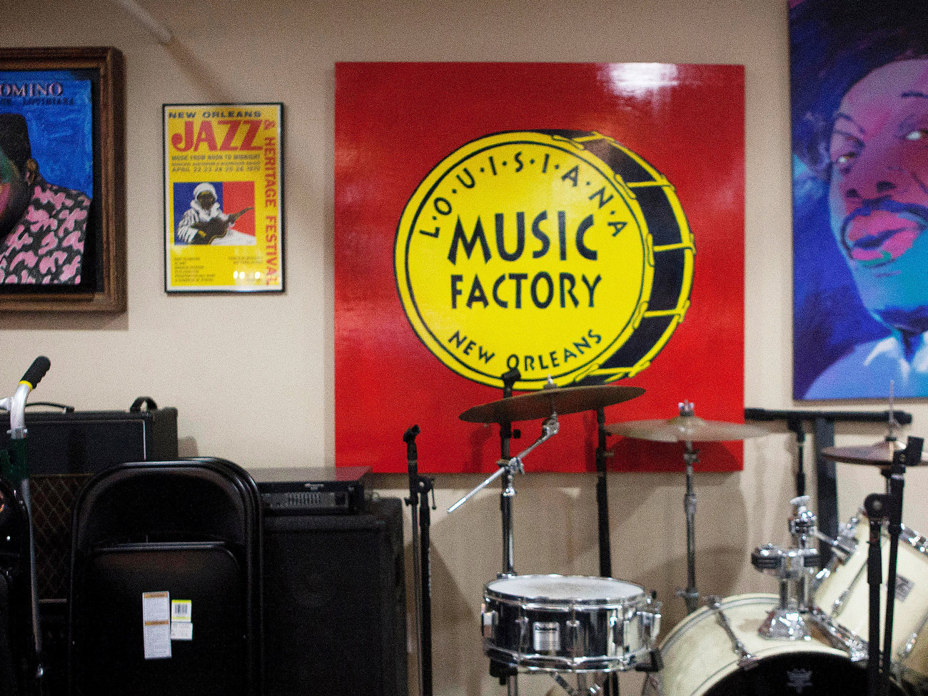 Louisiana Music Factory Store in New Orleans
