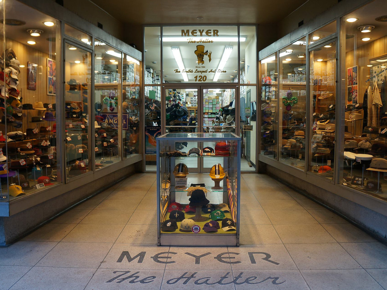 Meyer the Hatter Store in New Orleans
