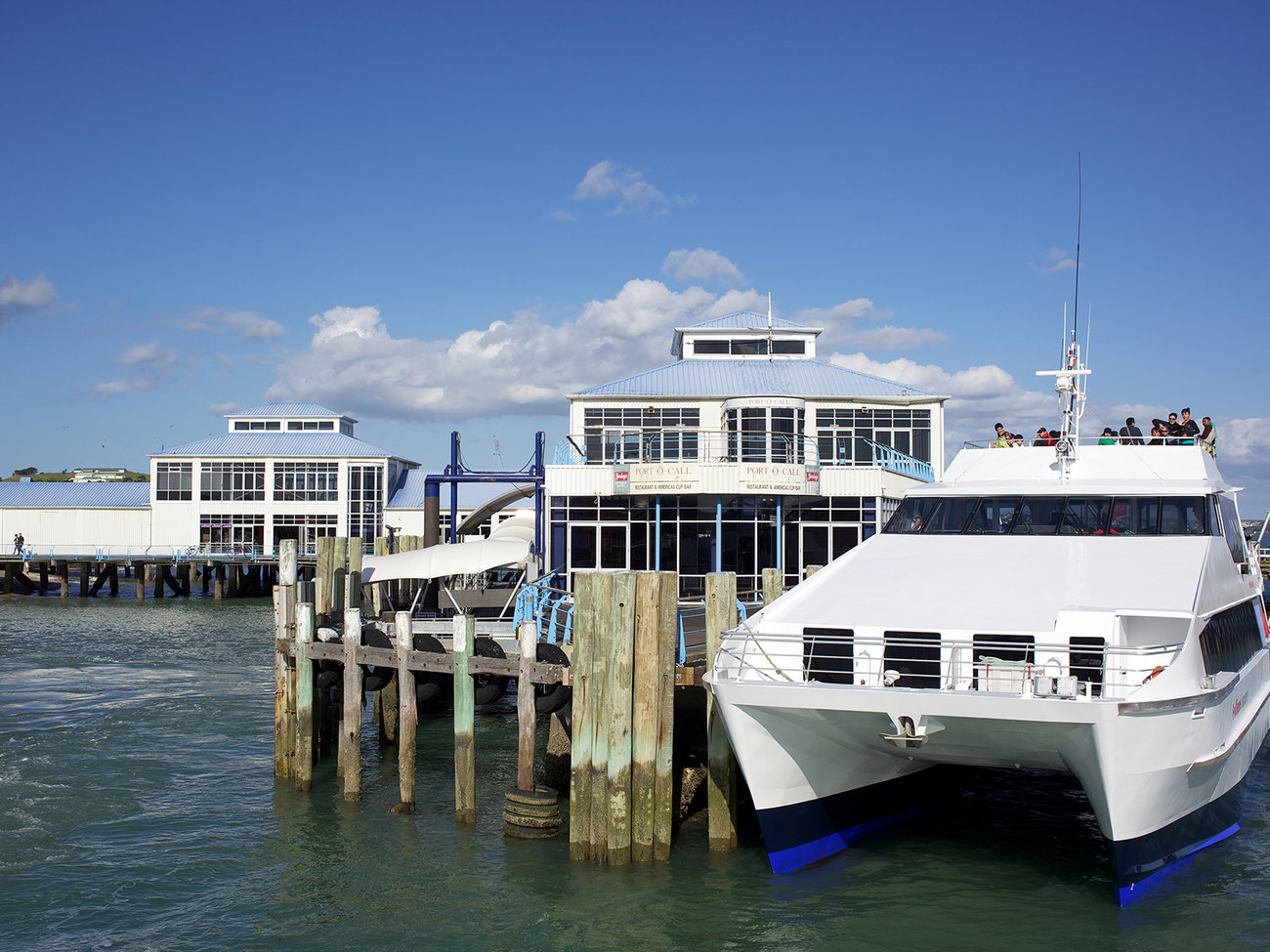 The Devonport Ferry in Auckland