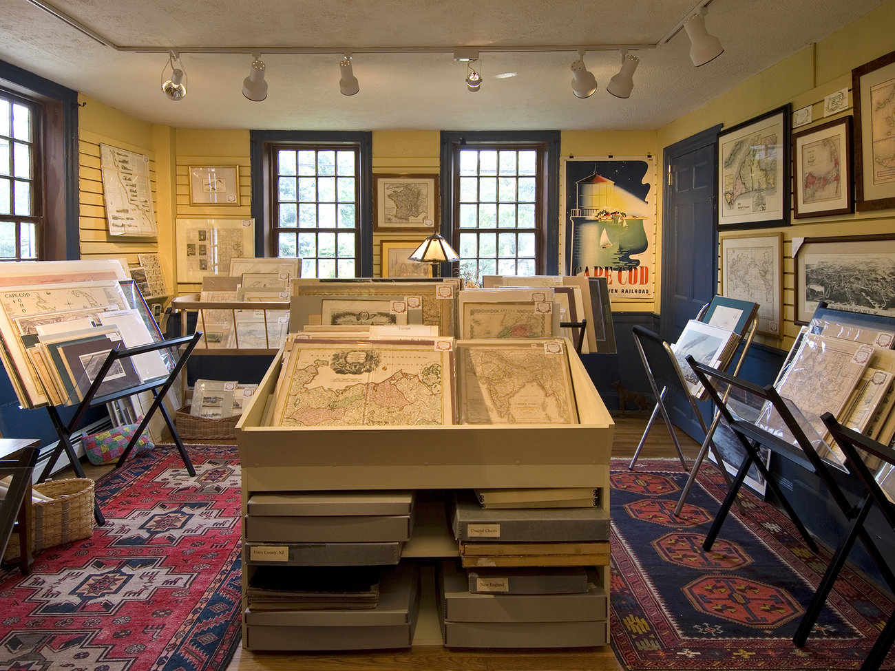 Maps of Antiquity Store in Cape Cod