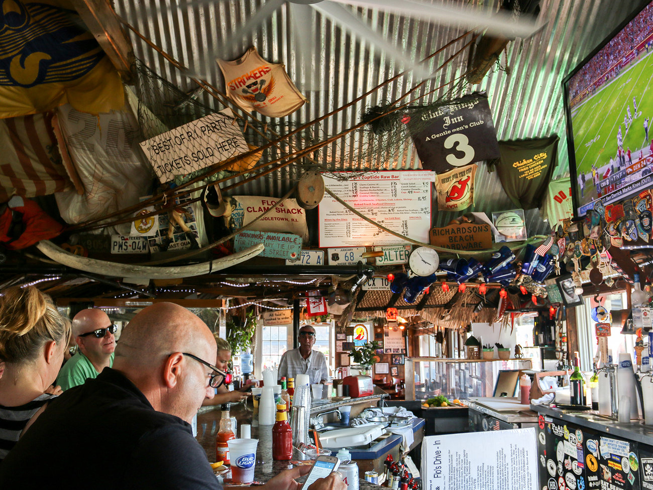 Flo's Clam Shack Restaurant in Rhode Island