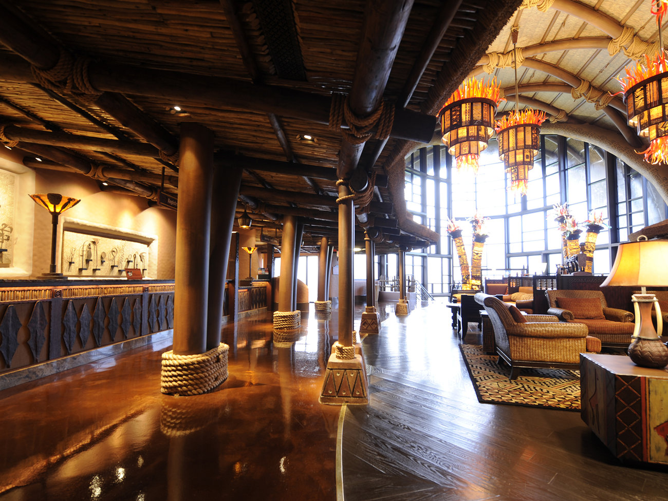 Disney's Animal Kingdom Lodge Hotel in Orlando