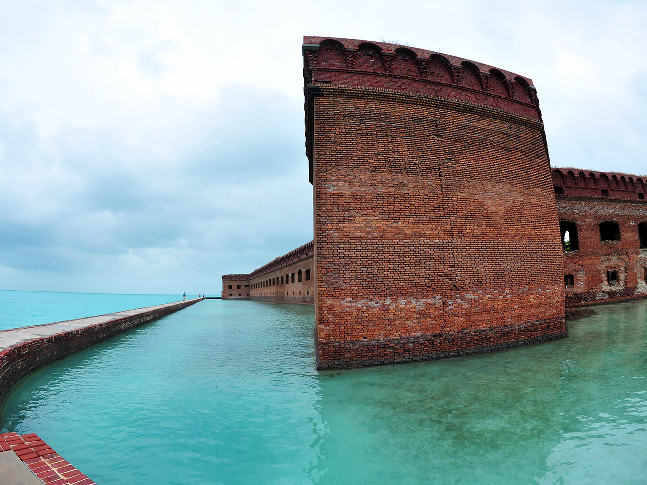 Dry Tortugas National Park in Florida Keys