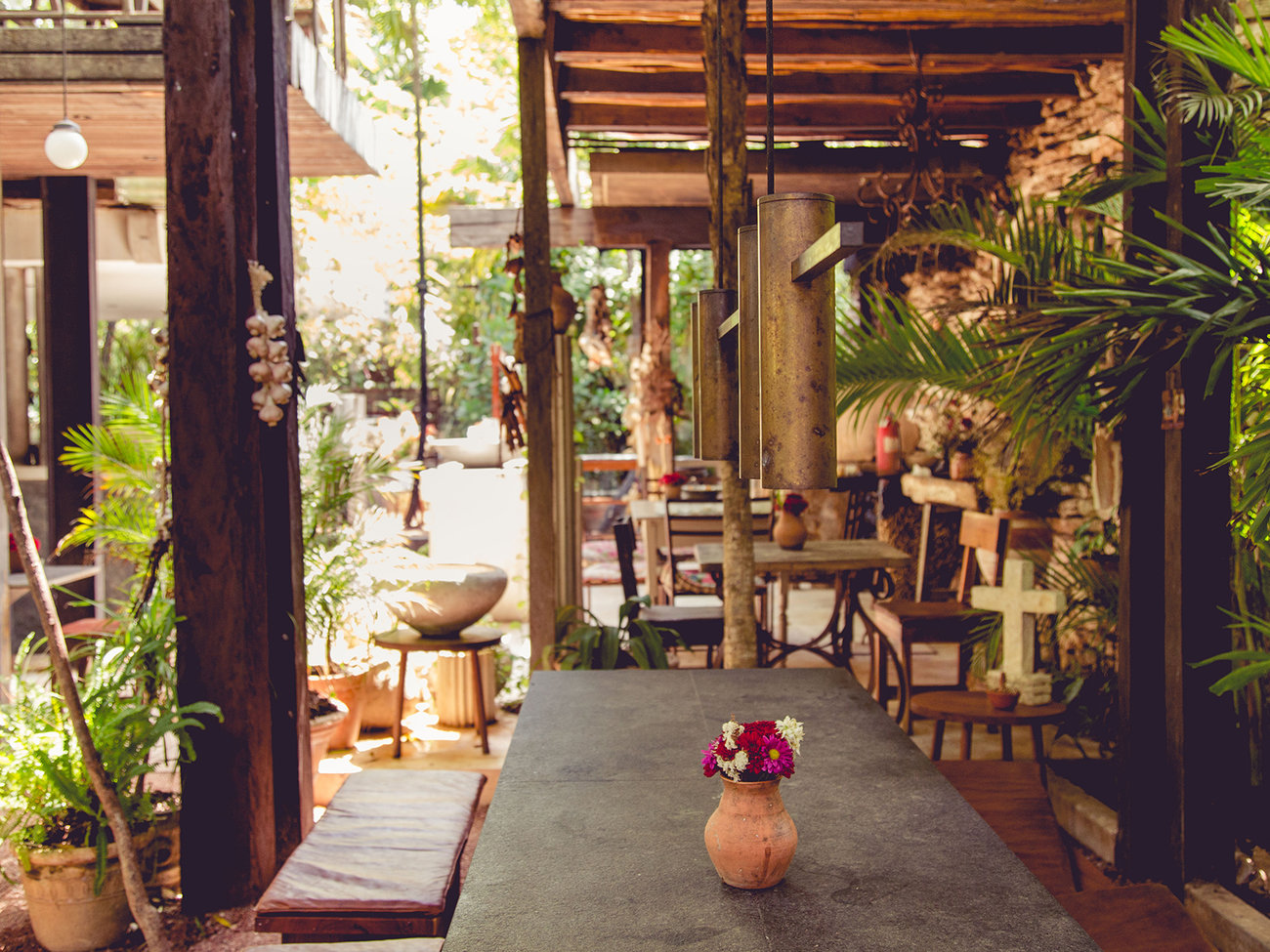Casa Jaguar Restaurant in Tulum