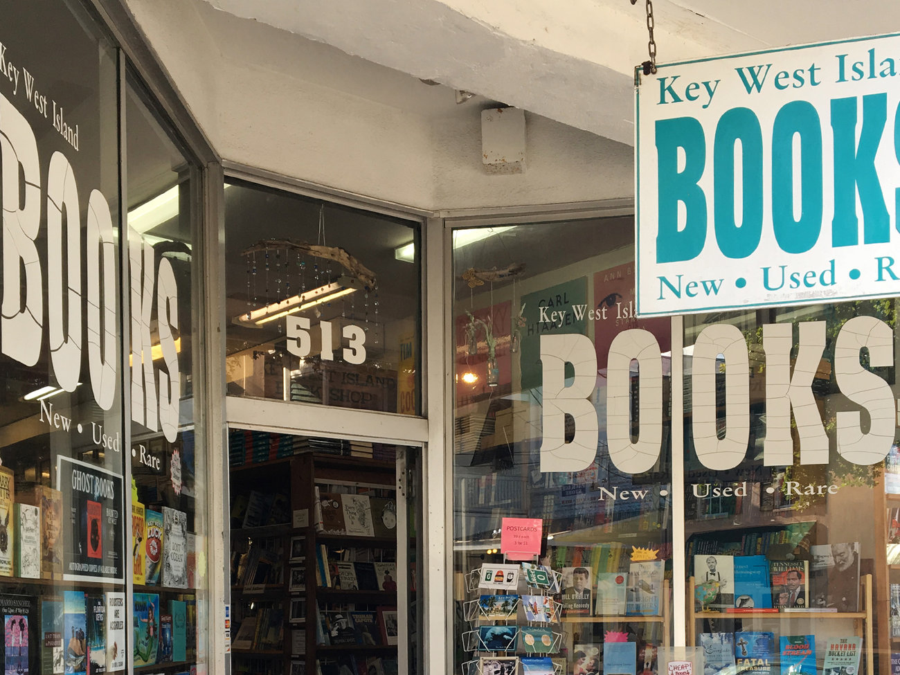 Key West Island Books Store in Florida Keys