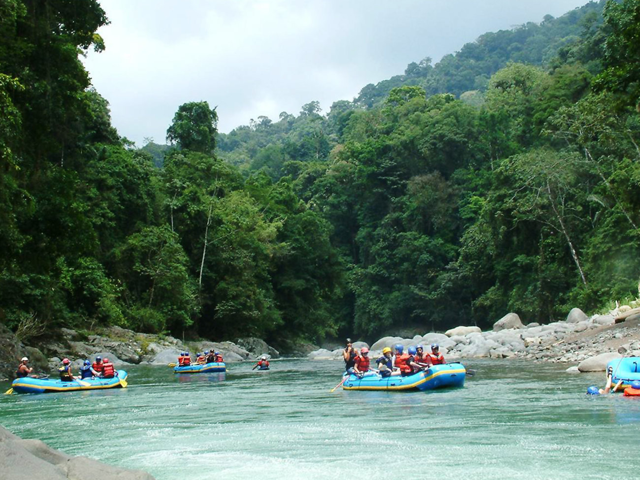 Pacuare River White Water Rafting in Costa Rica