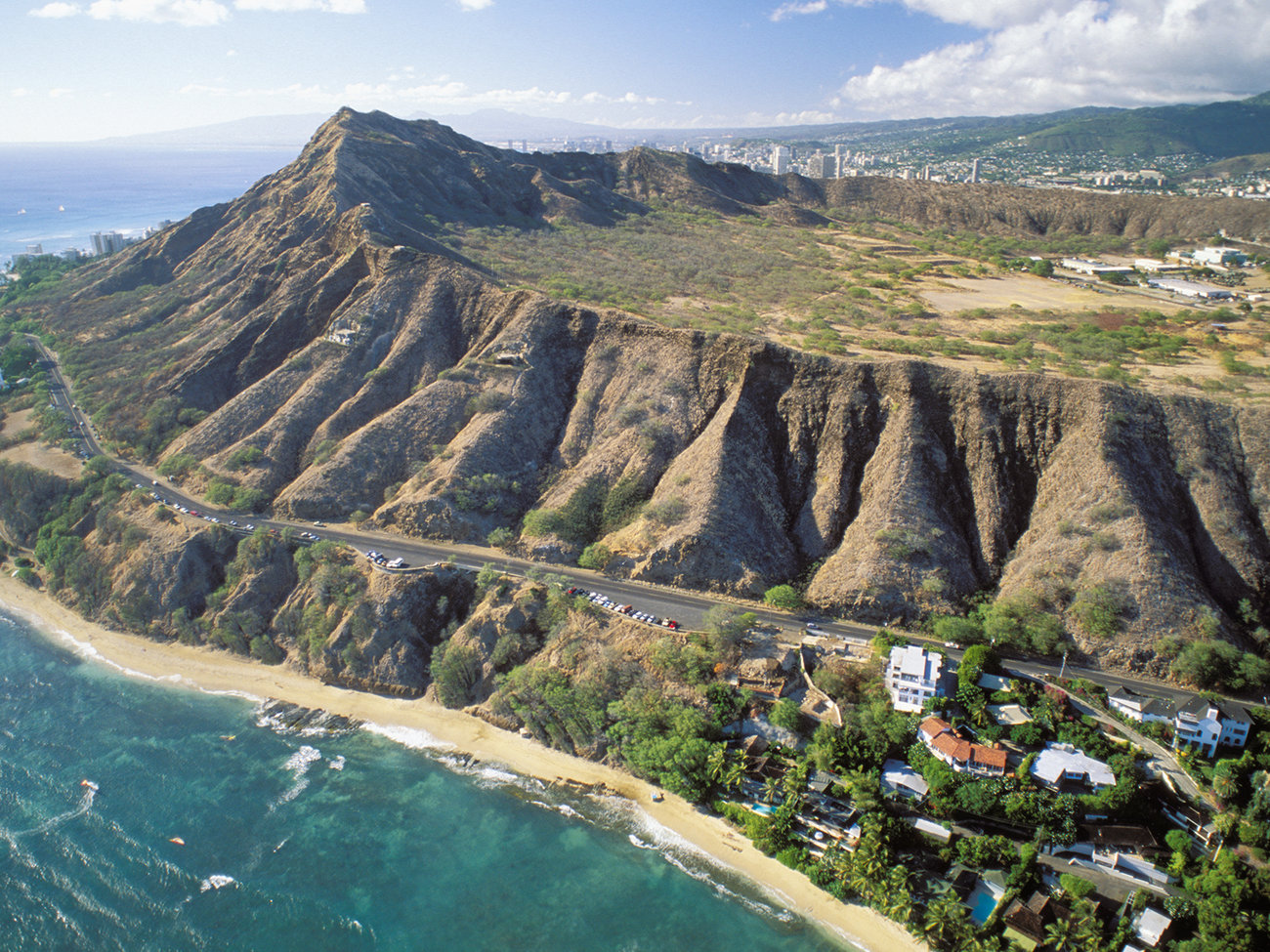 Diamond Head State Monument in Oahu