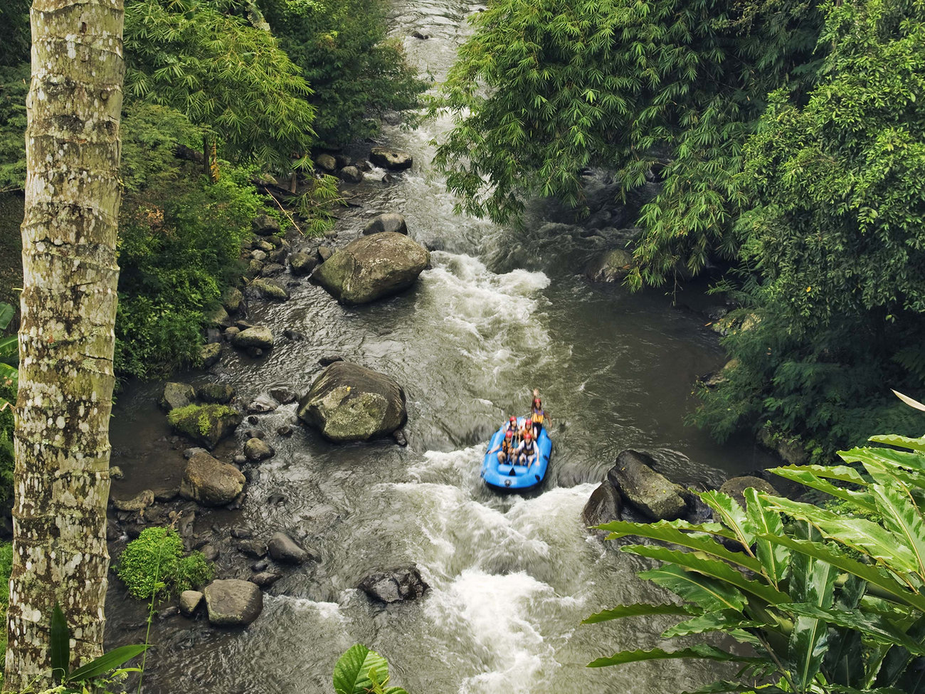 Ayung River Rafting in Bali