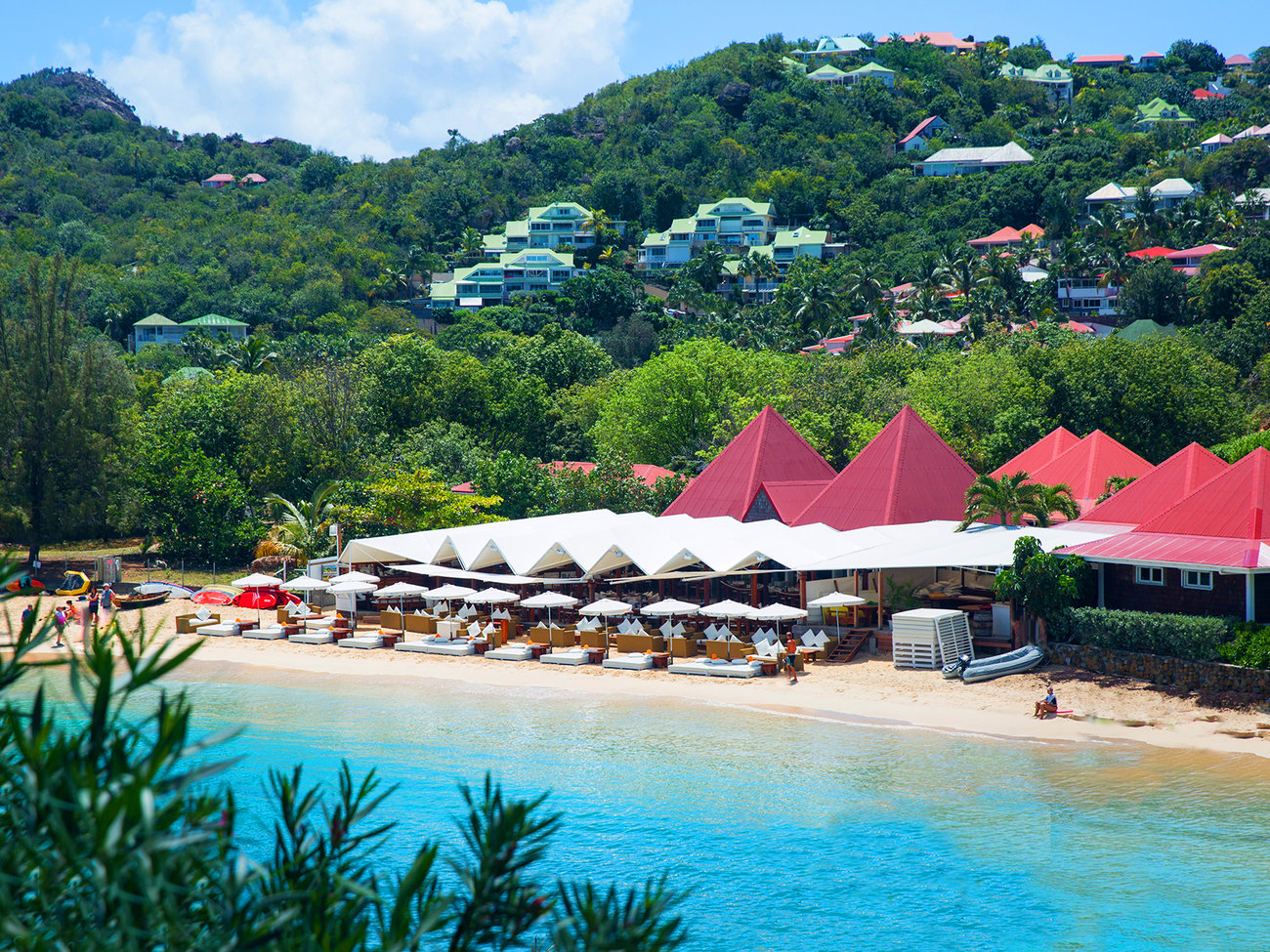 Nikki Beach Club in St. Barts