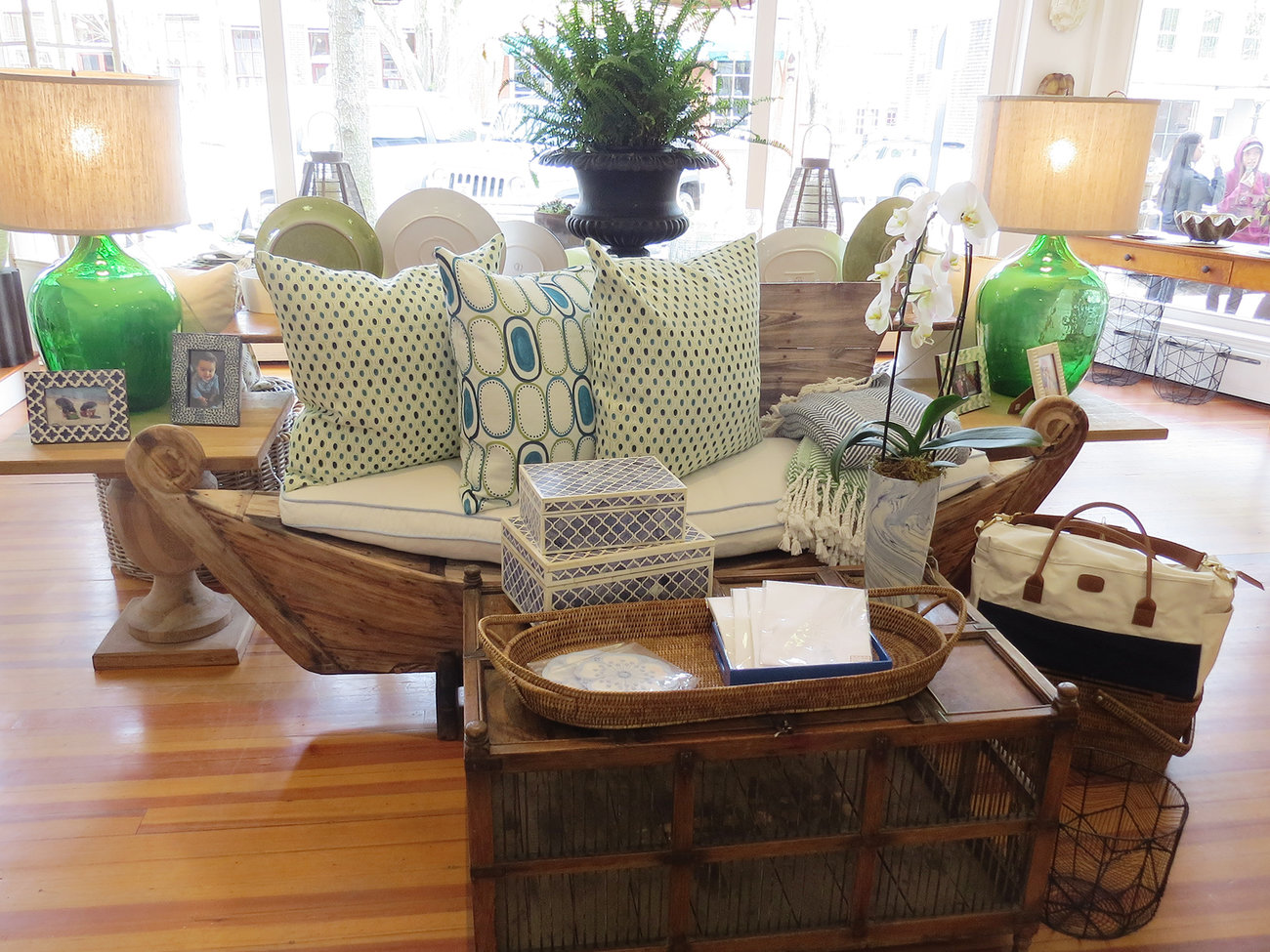 The Lion's Paw Store in Nantucket