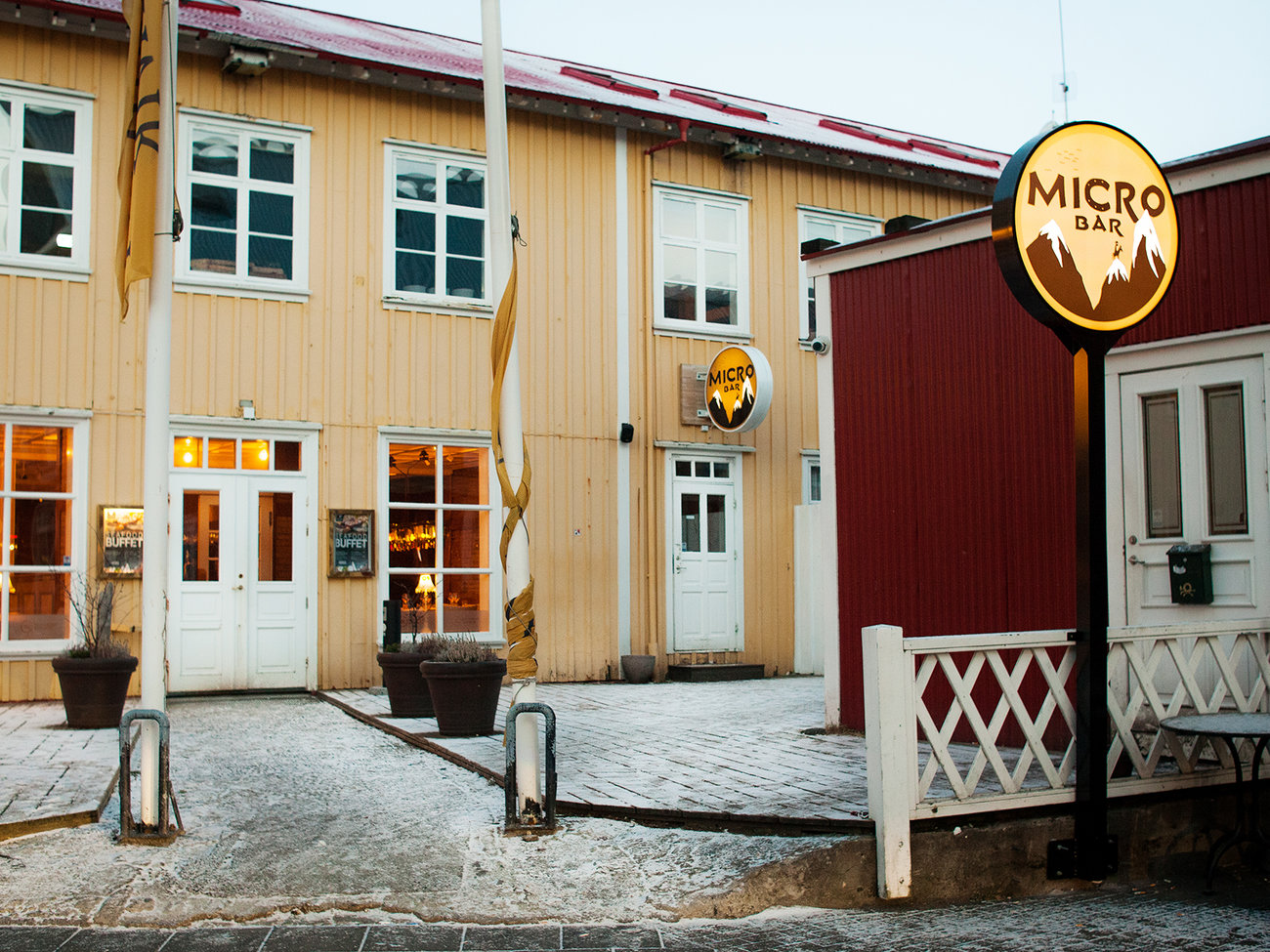 Micro Bar in Iceland