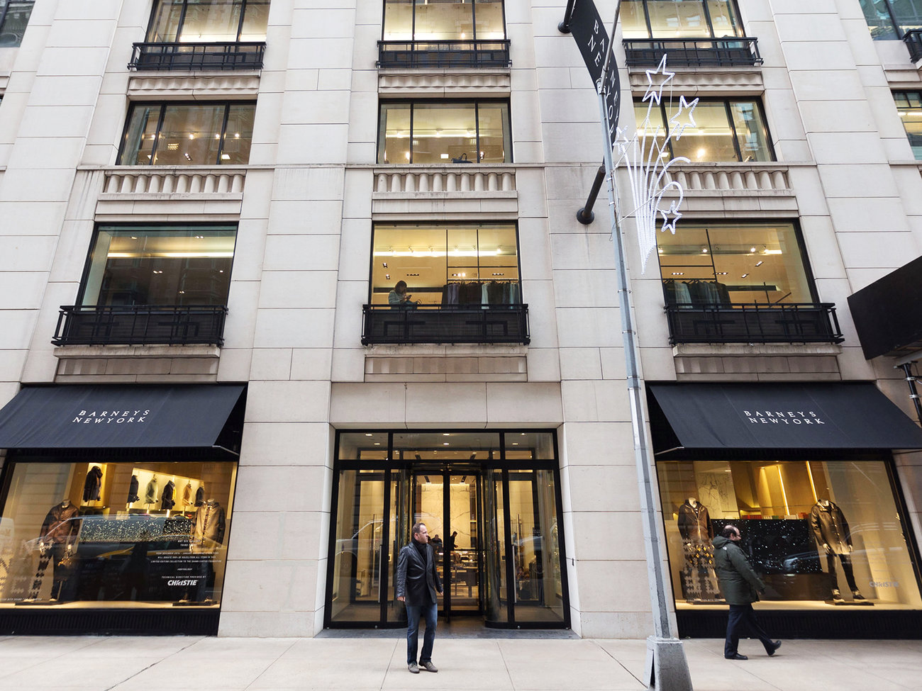 Barneys New York Store in Manhattan NYC