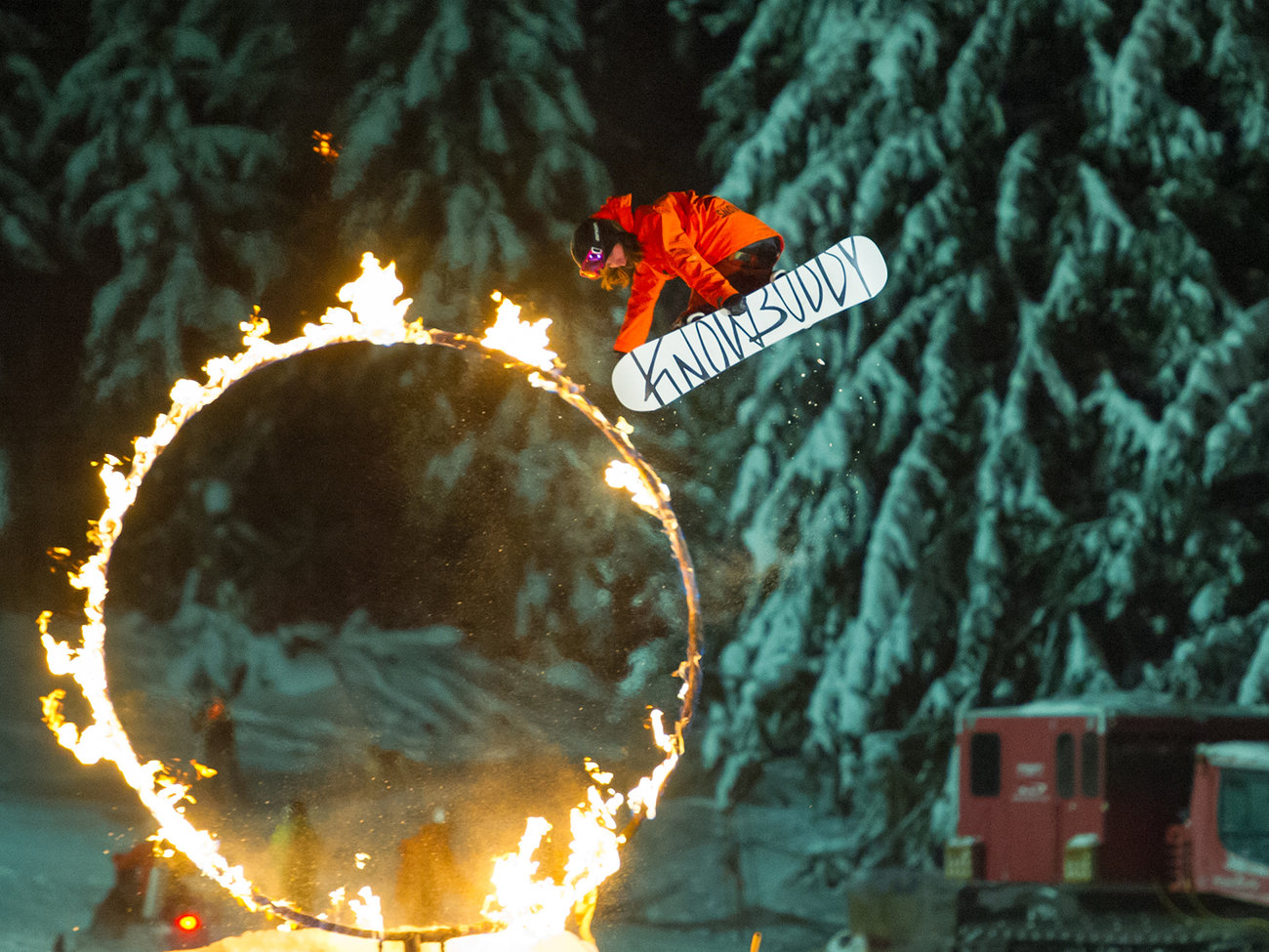 Fire & Ice Show in Whistler