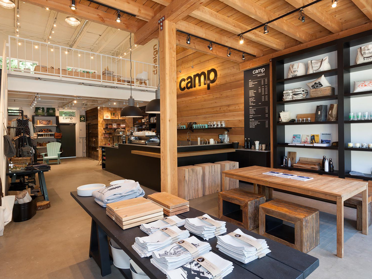 Camp Lifestyle + Coffee Company Store in Whistler