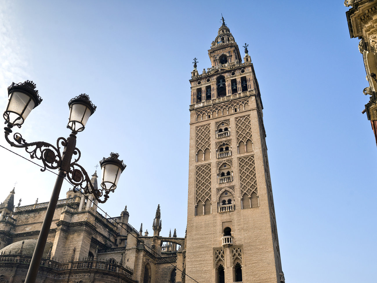 Catedral and Giralda Tower in Seville