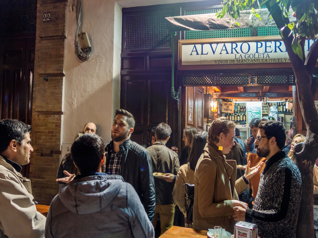 La Goleta Bar in Seville