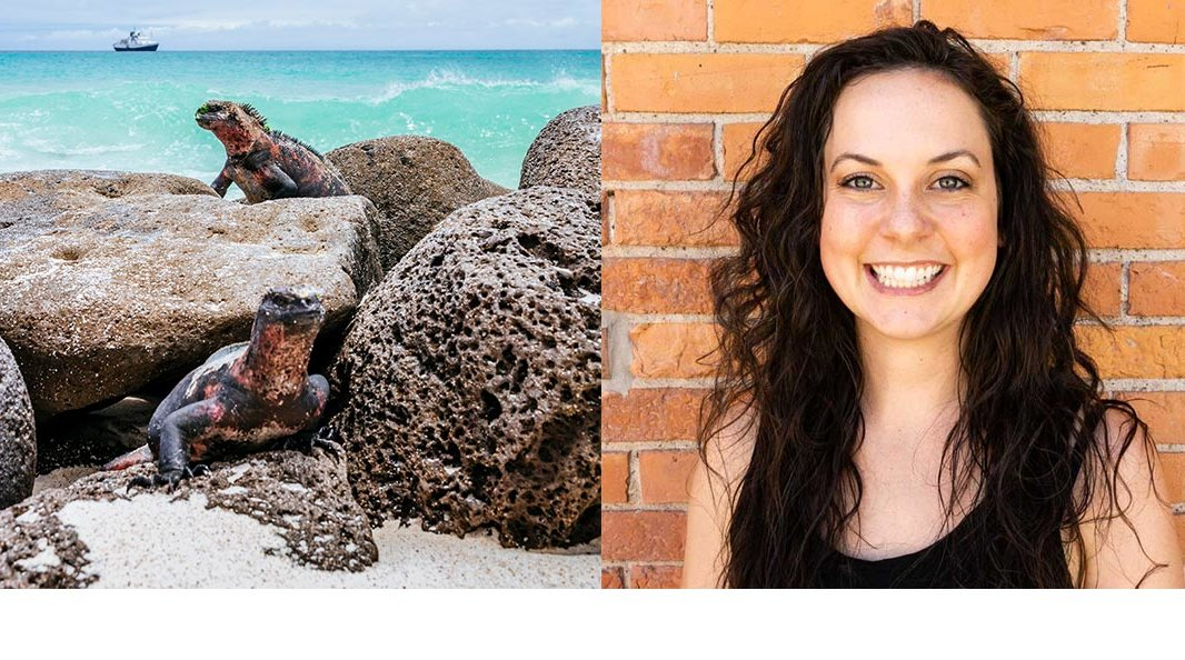Erin Correia, Travel Agent Specializing in trips to the Galapagos