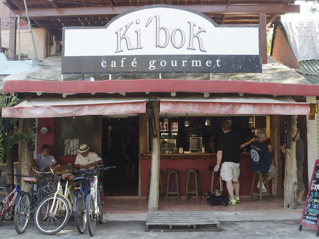 Ki'Bok Coffee Shop in Tulum
