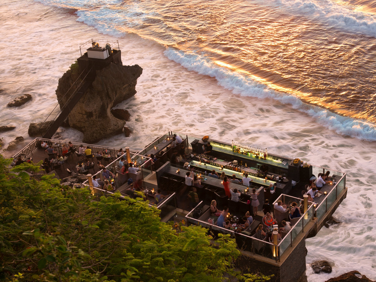 Rock Bar in Bali