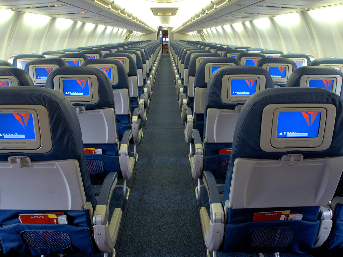 Delta Airlines cabin
