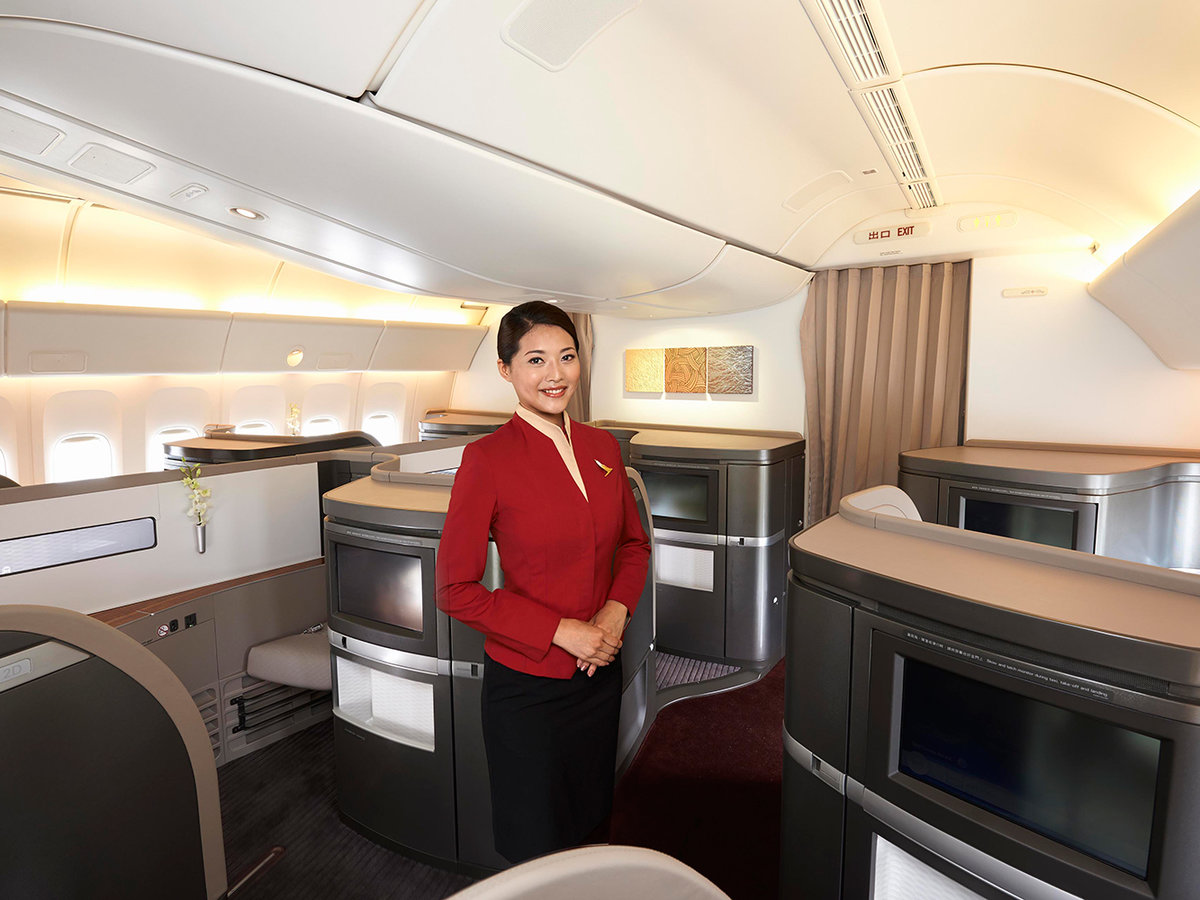 Cathay Pacific cabin design